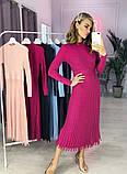 Женское Стильное платье из трикотажа, фото 4