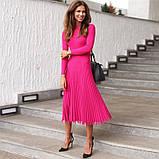 Женское Стильное платье из трикотажа, фото 3