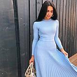 Женское Стильное платье из трикотажа, фото 2