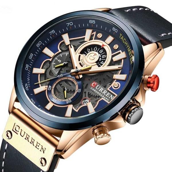 Чоловічі наручні годинники Curren Aviant