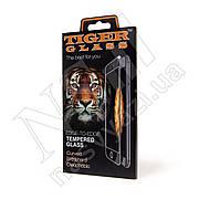 Защитное стекло APPLE iPhone 6 Plus Tiger glass (0,3мм, 5D) черное