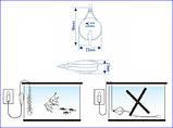 Безшумний одноканальний компресор для акваріума до 50 л Resun QS-35, фото 2
