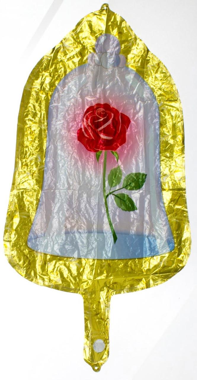 """Кулька повітр. фігура плівка мала """"Троянда"""""""