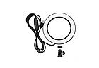 Кольцевая лампа светодиодное LED кольцо PULUZ для блогеров без штатива и с штативом, фото 2