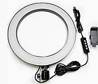 Кольцевая лампа светодиодное LED кольцо PULUZ для блогеров без штатива и с штативом, фото 4