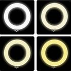 Кольцевая лампа светодиодное LED кольцо PULUZ для блогеров без штатива и с штативом, фото 5