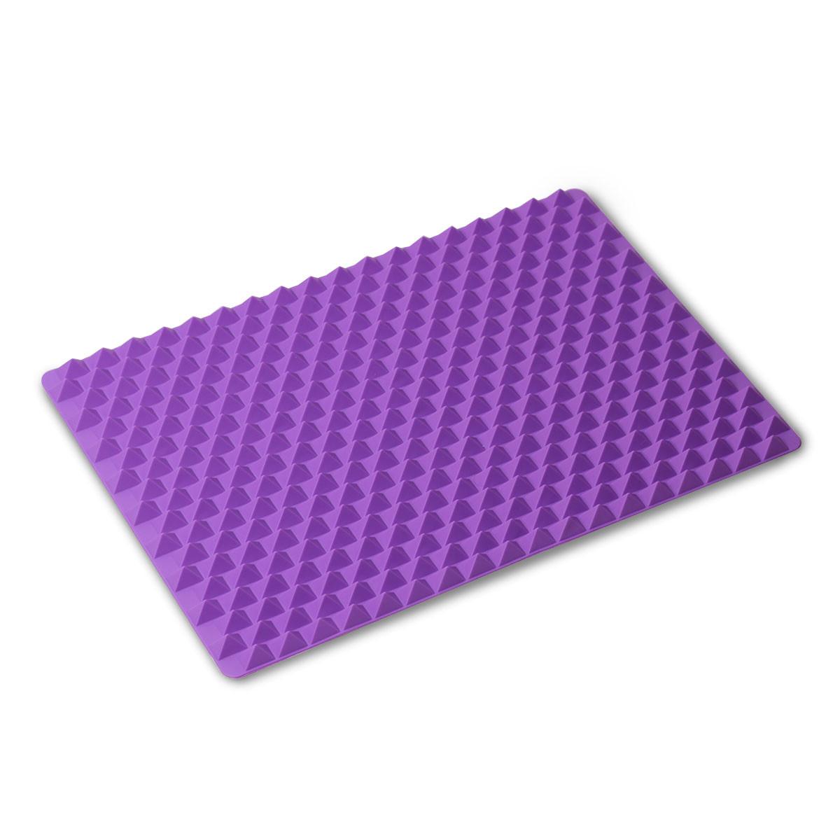 Коврик силиконовый Kamille (прямоугольный) 41*28*1.5см KM-7749