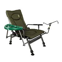 Кресло карповое Elektrostatyk F5R ST/P со столиком, фото 1