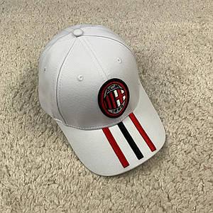 Кепка, бейсболка Мілан (AC Milan) біла