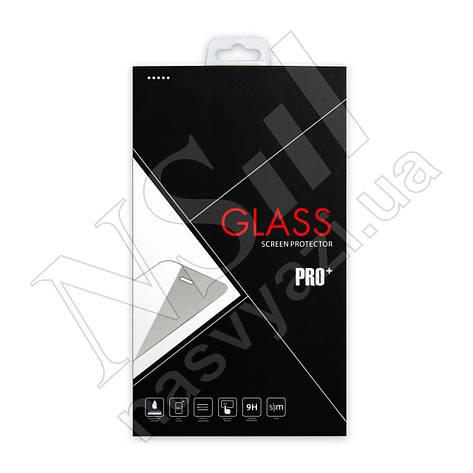 Защитное стекло HUAWEI Honor 7C/Y7 Full Glue (0.3мм, 3D) белое, фото 2