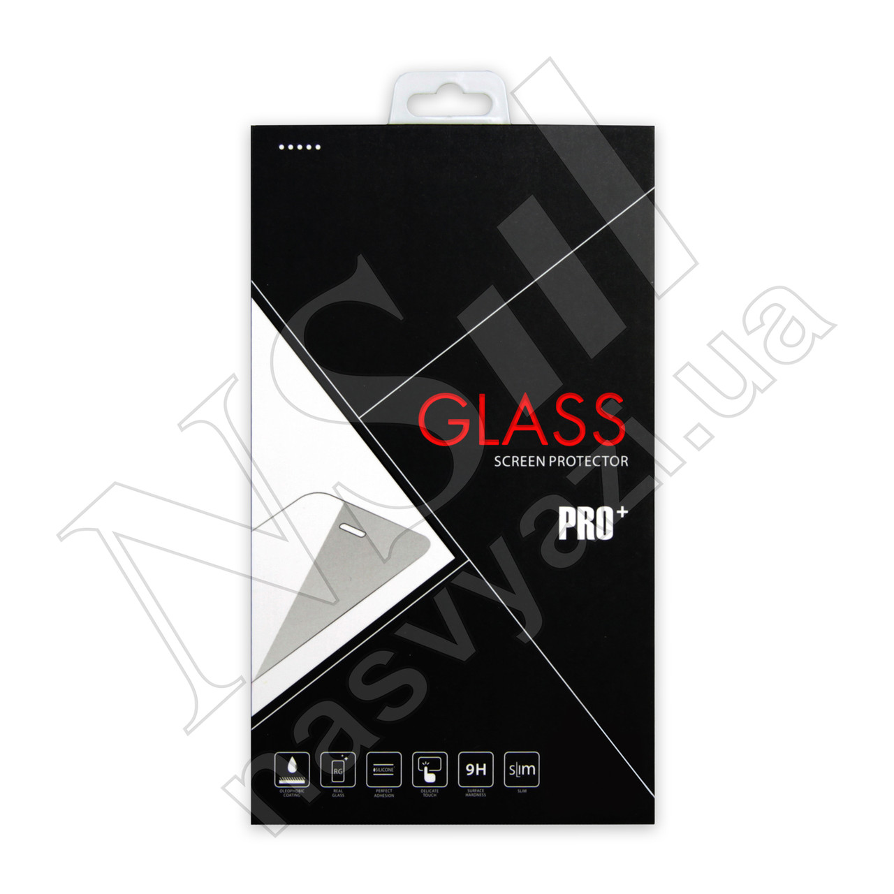 Защитное стекло HUAWEI Honor 7C/Y7 Full Glue (0.3мм, 3D) белое