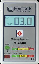 Бесконтактный влагомер дерева и строительных материалов Exotek MC-500N (0- 59.8%) (mdr_7066)