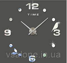 Декоративні настінні годинники time 3D (D=1м)