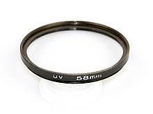 Светофильтр  UV 58 mm комиссия / в магазине