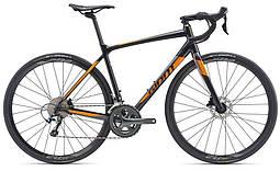 Шоссейный велосипед Giant 2019 Contend SL 2 Disc металик черный М (GT)