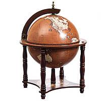 Глобус бар деревянный Подарок другу