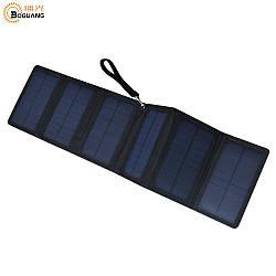 Сонячна панель вологозахищена Boguang 21006 5V/10W на 2 USB виходу