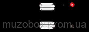 Кабель Roxtone Jack 3.5 M стерео - 2хRCA (RAYC150L3) 3м, фото 2