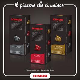 Капсулы Kimbo стандарта Nespresso, Италия