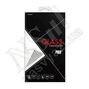 Защитное стекло MEIZU M3E Silk Screen (0.3мм, 3D) золотистое