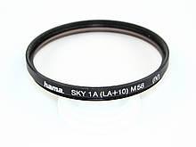 Светофильтр hama sky 1A(LA+10) 58mm б/у / в магазине