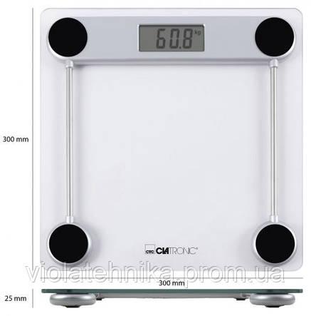 Весы напольные CLATRONIC PW 3368, фото 2