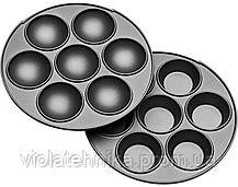 Аппарат для приготовления пончиков и кексов CLATRONIC DMC 3533 lilac, фото 3