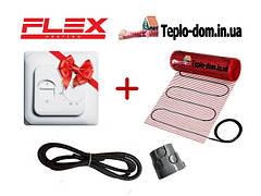 Нагревательный мат FLEX EHM с механическим терморегулятором RTC 70.26