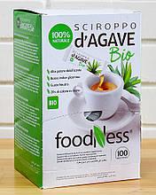 Сироп Агави органічний натуральний цукрозамінник Foodness (саше 3 г*100 шт), 420 грам (Італія)