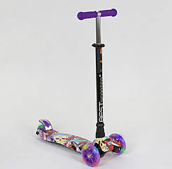 Самокат Best Scooter А 24664 /779-1313 Фіолетовий Maxi 62850