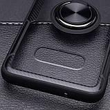 Чехол бампер Primolux Ring Magnetic Stand для смартфона Samsung Galaxy S10e (SM-G970) - Black, фото 6