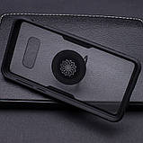Чехол бампер Primolux Ring Magnetic Stand для смартфона Samsung Galaxy S10e (SM-G970) - Black, фото 3