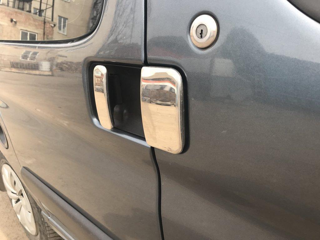 Citroen Berlingo Накладки на ручки хромированные две передних и две сдвижных двери Ситроен Берлинго
