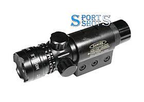 Лазерний целеуказатель Laser 803R красний луч, з виносною кнопкою, акумулятором і кріпленнями