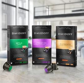 Капсулы Davidoff стандарта Nespresso, Германия