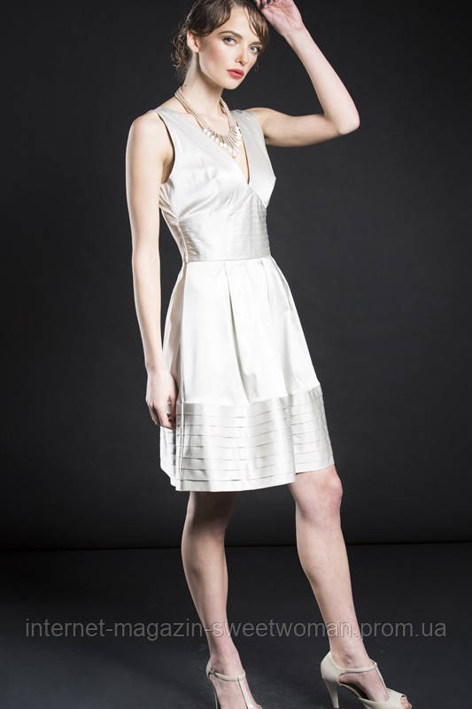 Коктейльна сукня срібна VH
