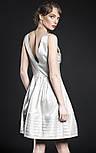 Коктейльна сукня срібна VH, фото 2