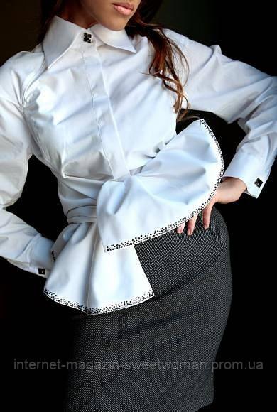 Блуза біла  Mirachel