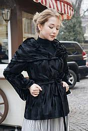 Пальто чорне Celo