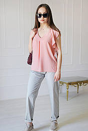 Блуза VH персикова