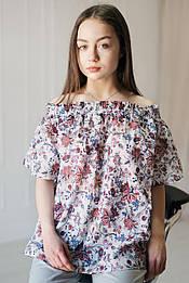 Блуза квіти VH
