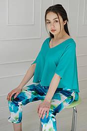 Блуза VH бірюзова