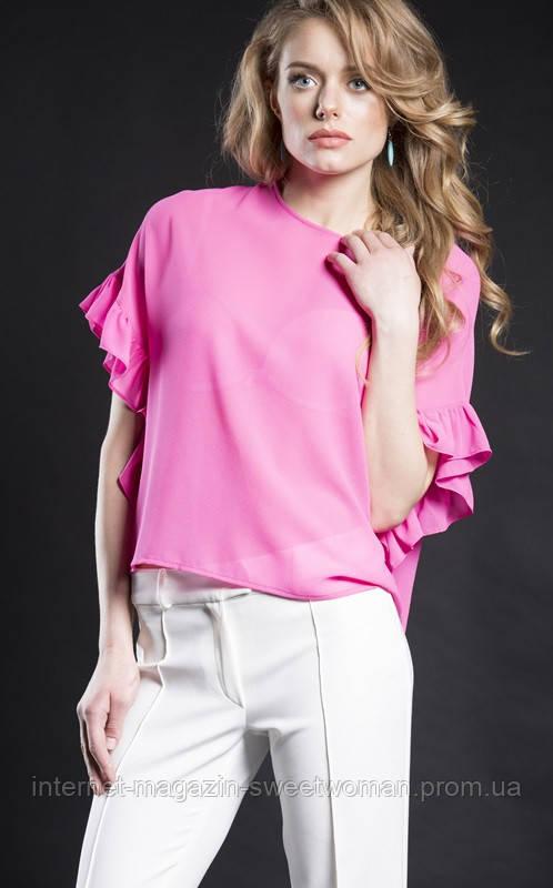 Блуза VH рожева метелик