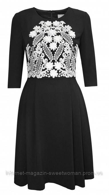 Сукня чорна Roxana P&V