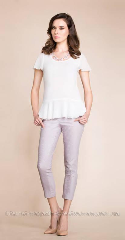 Блуза Davilo біла P&V