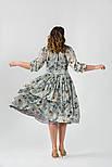 Сукня сірий шовк VH, фото 4