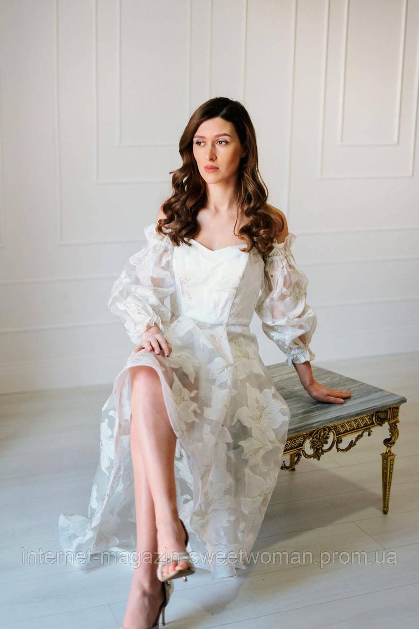Сукня білі квіти Verezhik House