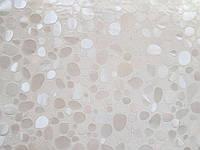Клеенка прозрачное мягкое стекло с лазерным рисунком 80 см