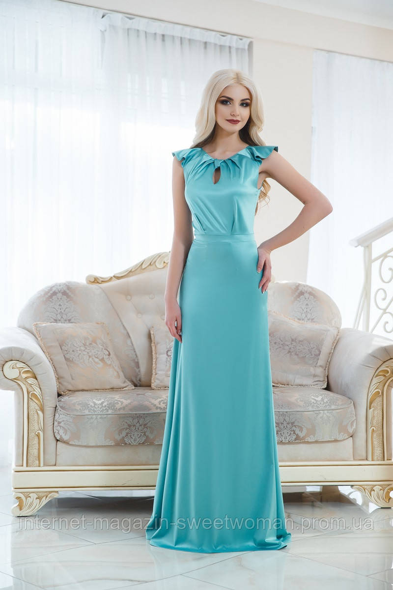 Вечірня сукня м'ята VH
