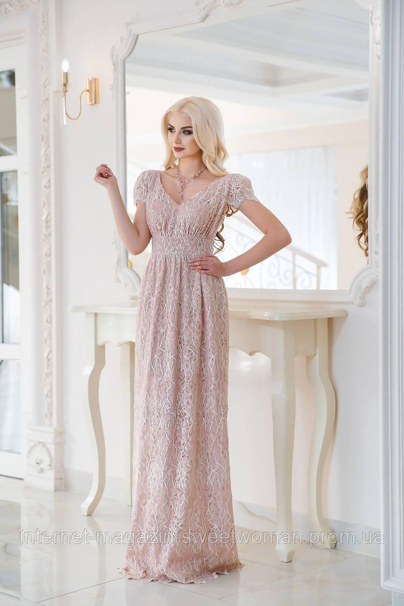 Рожеве макраме сукня VH